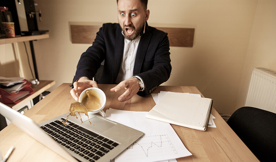What To Do When You Spill A Drink On Your Laptop